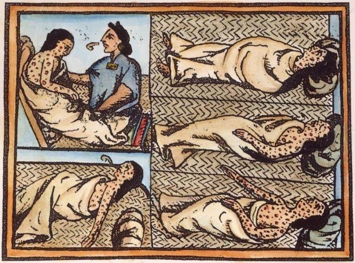 Descubren la bacteria causante de la peste que terminó con los mexicas