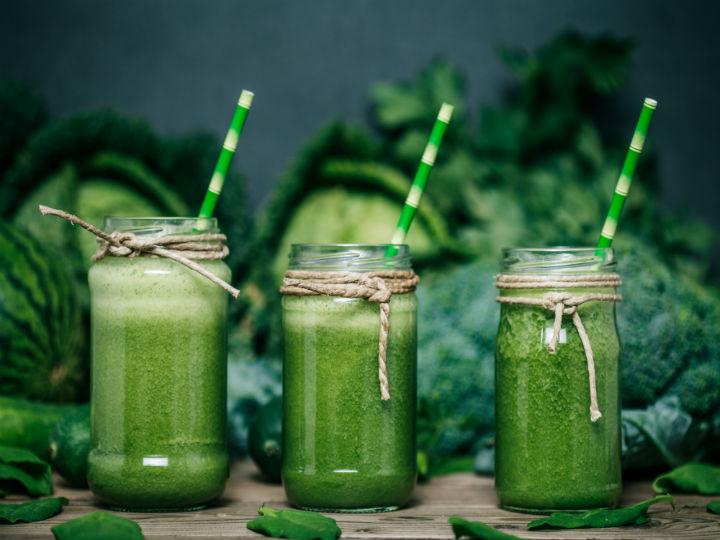 3 formas de preparar jugo verde