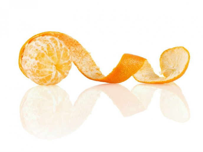 Naranja en espiral
