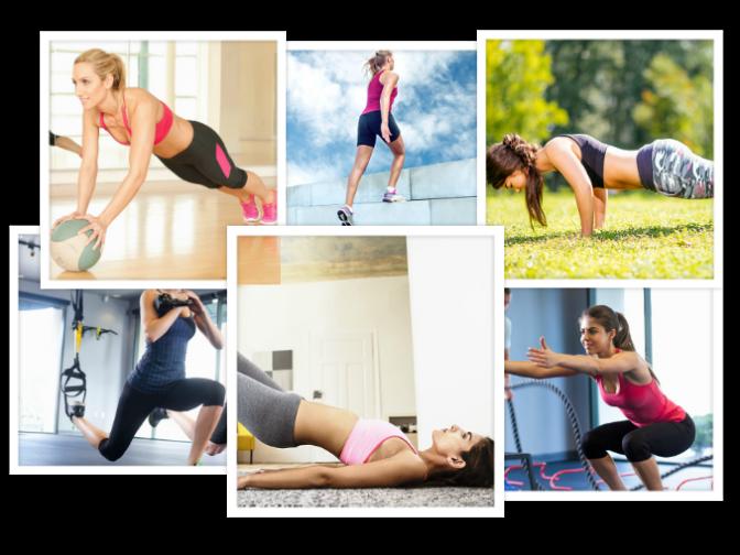 5 ejercicios para marcar los hoyuelos de la espalda