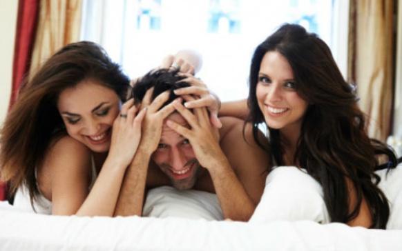 ¿Estás lista para un trío sexual?