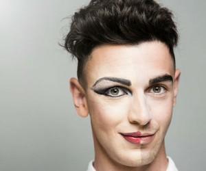 hombres con maquillaje la nueva campaa de marca de cosmticos