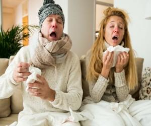 ¿Tu pareja tiene gripe? ¡Evita el contagio!