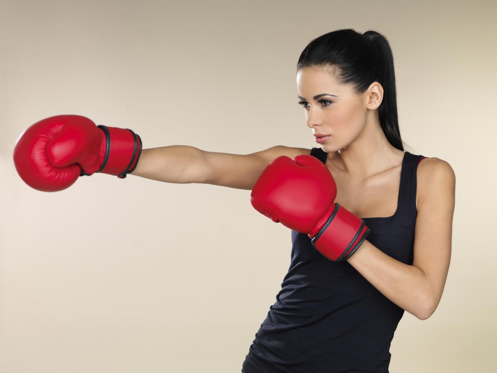 Фото на аву девушки в боксе