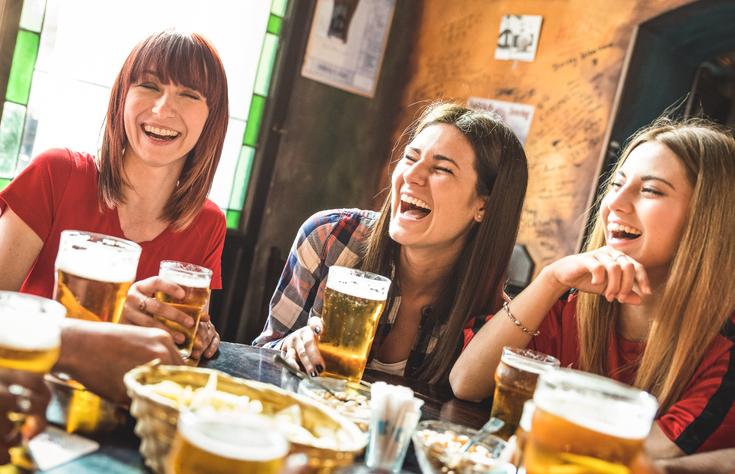 cerveza aumenta los pechos