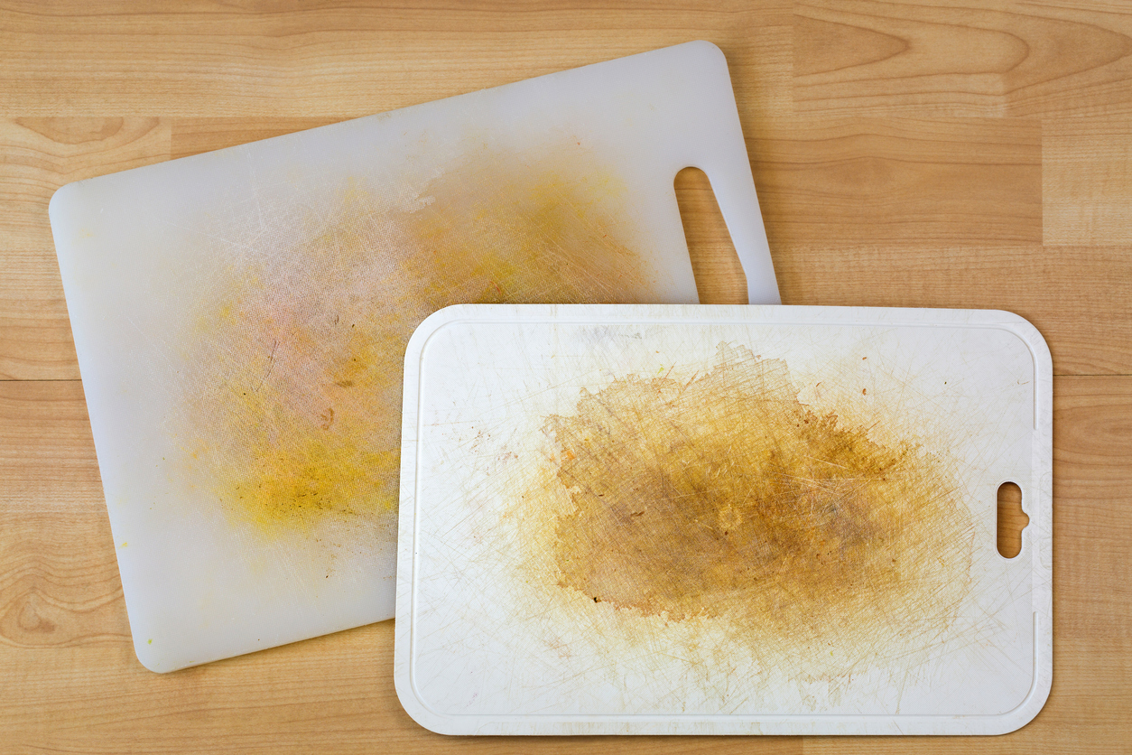 cómo limpiar una tabla para cortar