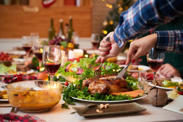 Como evitar reflujo en navidad