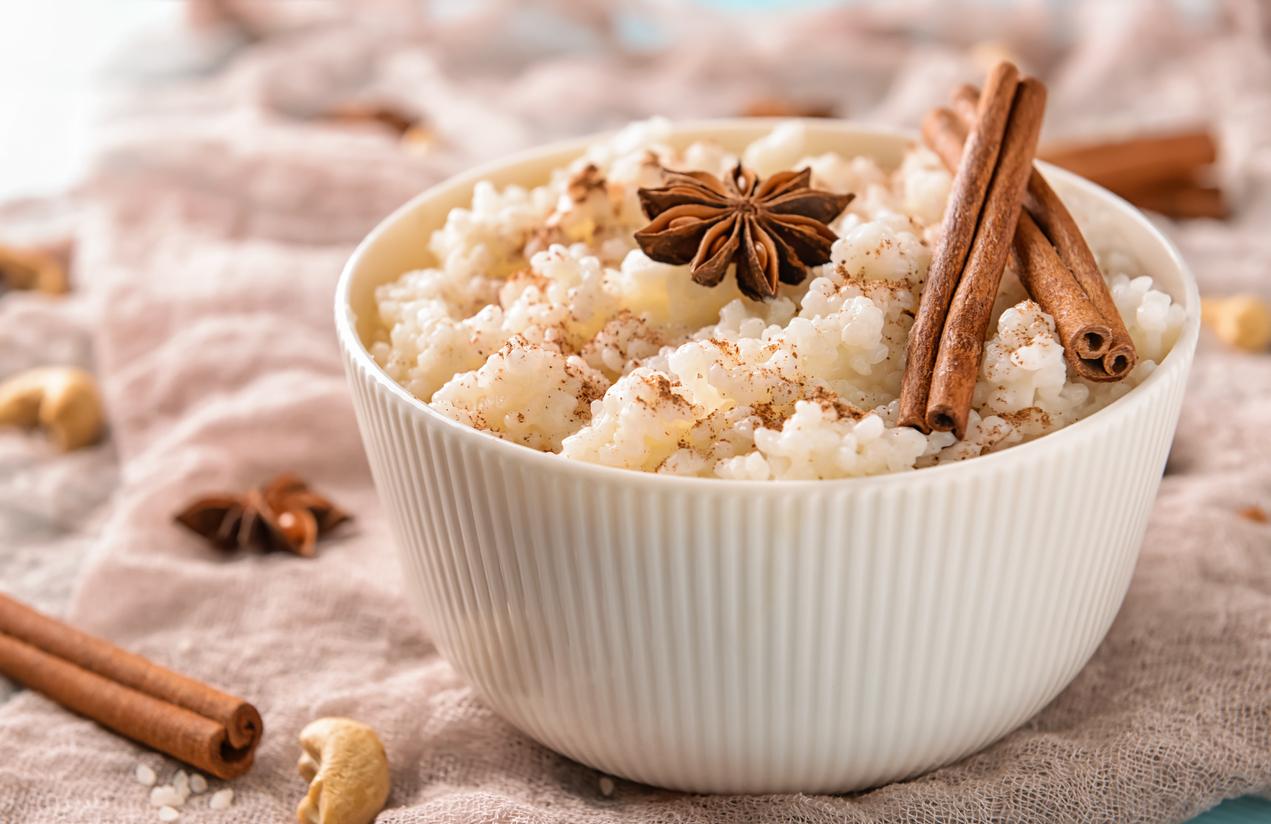 cómo hacer arroz con leche sin azúcar