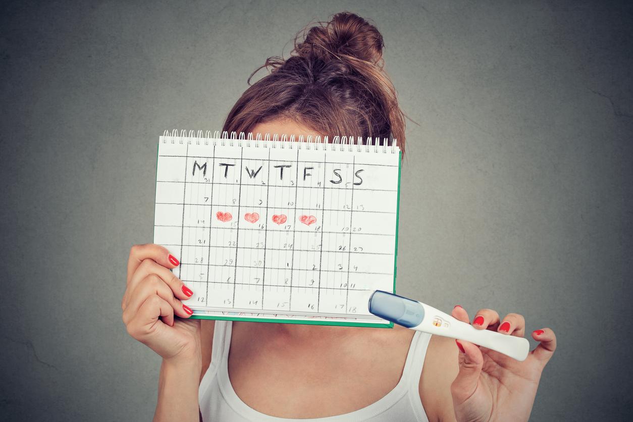 """cuando no presentas problemas en el ciclo menstrual tu periodo llega como """"relojito"""" el mismo día de cada mes"""