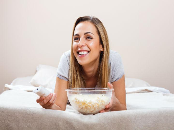 Diet with popcorn