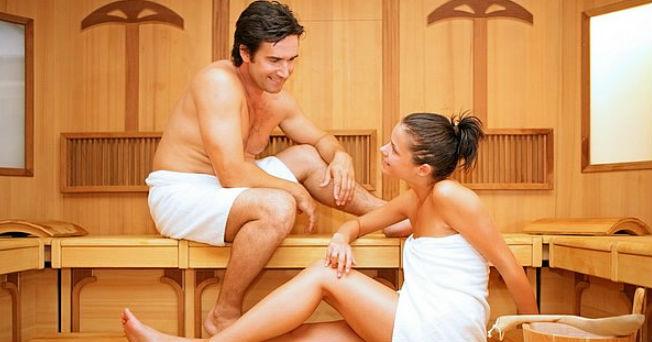 baño de vapor para bajar de peso