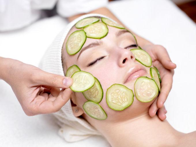 beneficios del extracto de pepino en la piel
