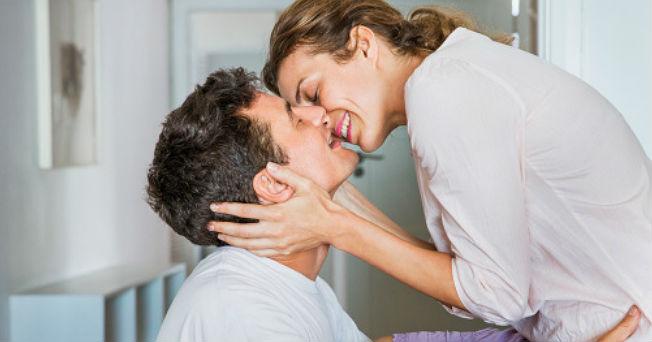 Beneficios del beso apasionado