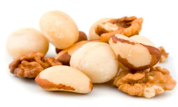 nuez de macadamia para bajar de peso