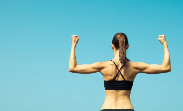 ejercicios para eliminar flacidez de brazos