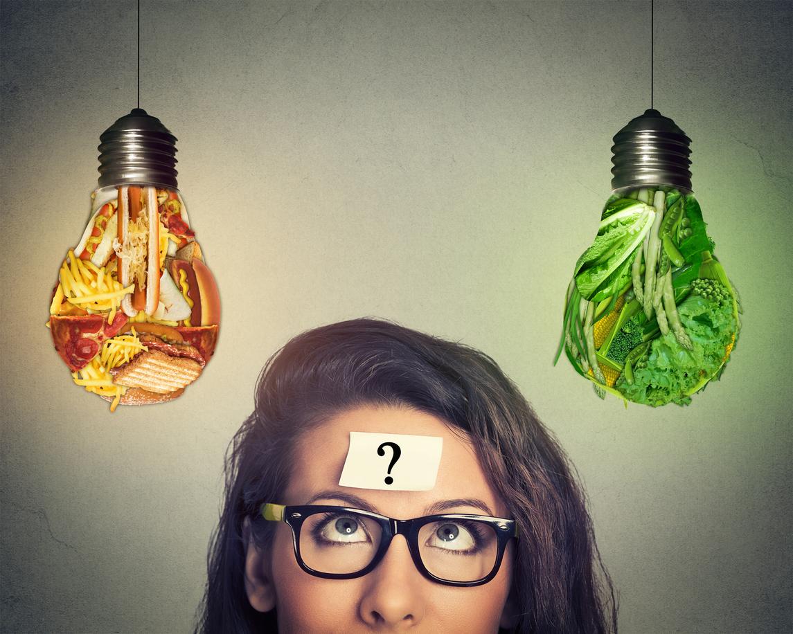 Control mental para bajar de peso