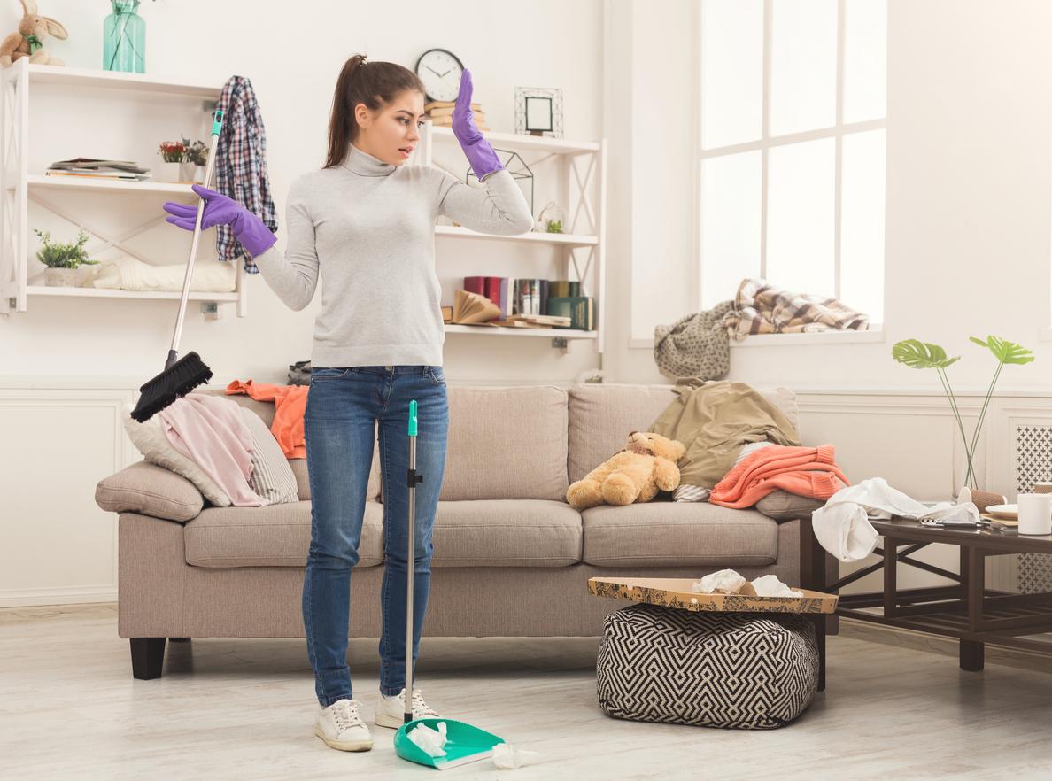Limpiar la casa despu s del trabajo es malo para tu salud - Trabajo para limpiar casas ...
