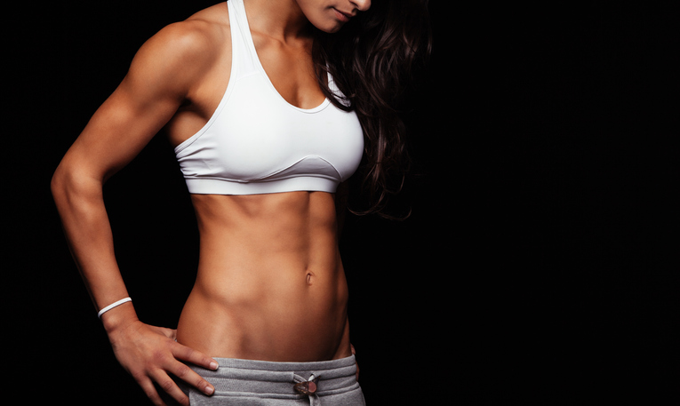 Gelatina para marcar los músculos