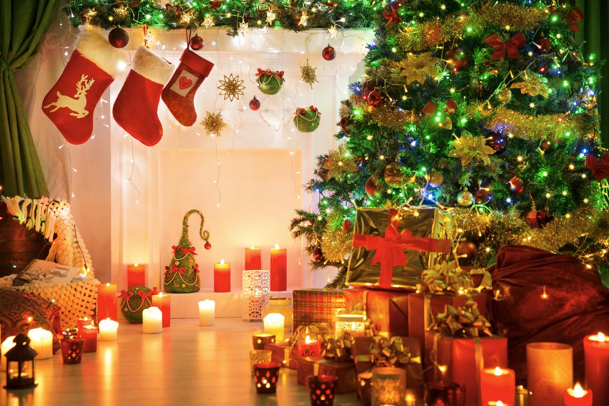 las personas que decoran antes de Navidad son más felices