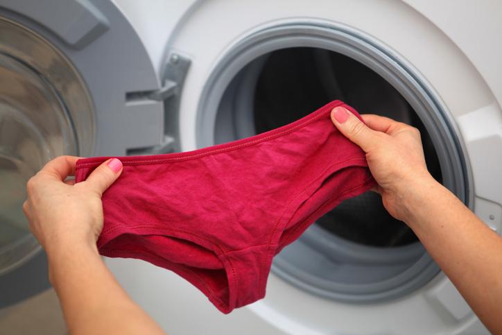 ¿Qué pasa si usas el mismo calzón por dos días?