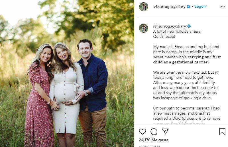 Mujer de 51 años dará a luz a su propio nieto para que su hija pueda formar una familia