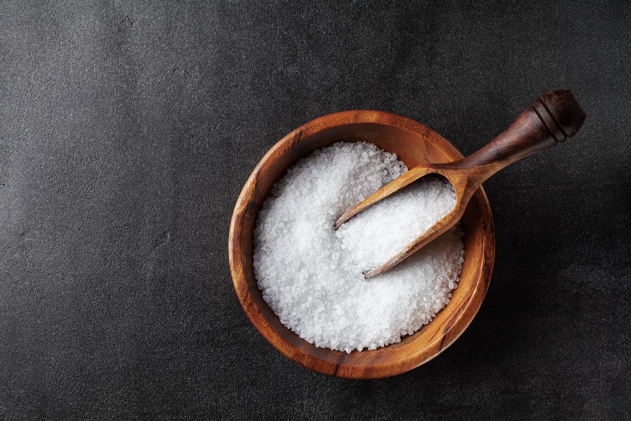 Lo único que necesitas es media taza de sal marina