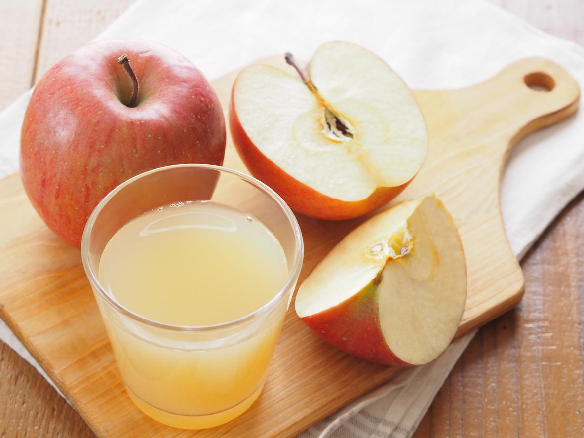 Refresco de manzana para la diarrea