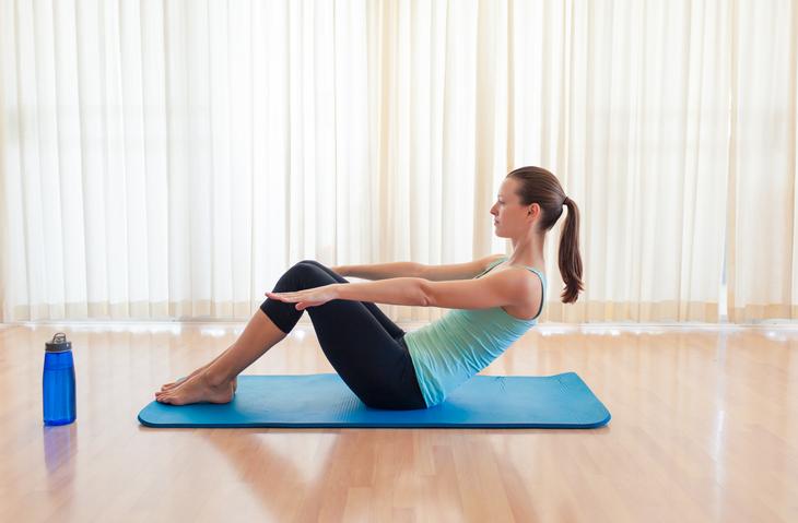 movimientos para marcar abdomen