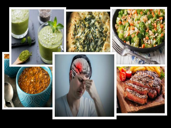 Alimentos ricos en hierro para evitar el cansancio y el dolor de cabeza