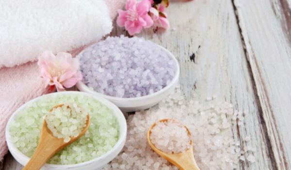 Epsom baño salt sal edema de