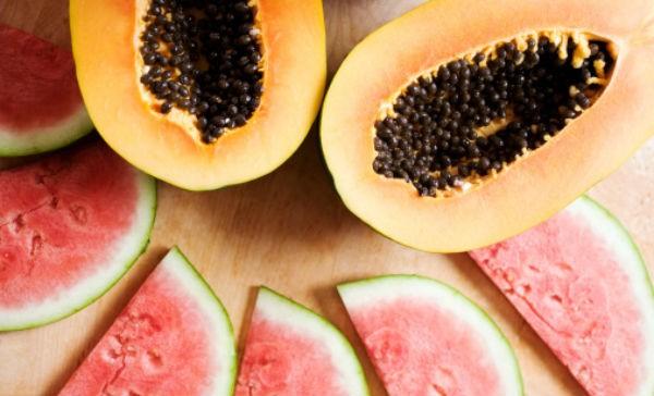 Bajar de peso con frutas