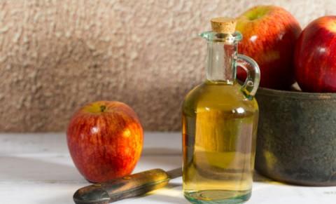 vinagre de manzana con agua para el acne