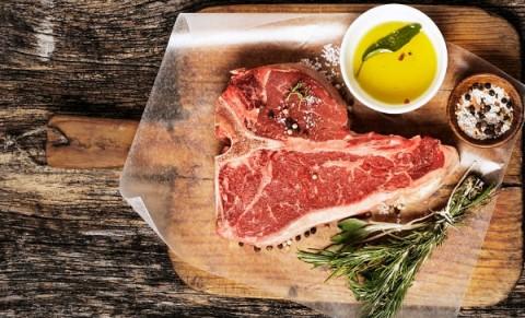 cuantas calorias tiene la carne de vaca asada