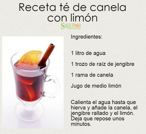 para qué sirve el té de canela con limón| Enforma180