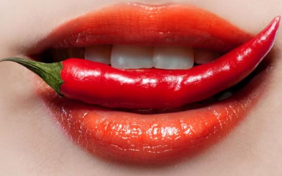 Comer chile libera hormona del placer