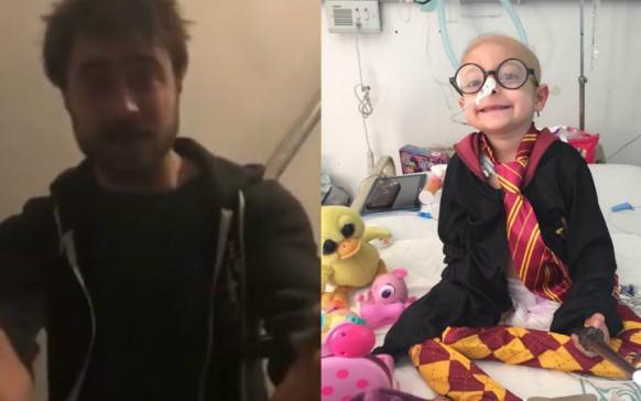 Daniel Radcliffe, actor de Harry Potter, envía mensaje a niña mexicana con cáncer terminal