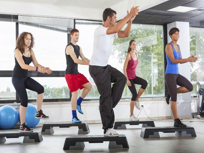 Actividad f sica enforma180 for En el gimnasio