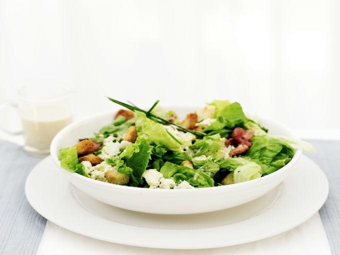 Ensaladas para dietas sin grasas