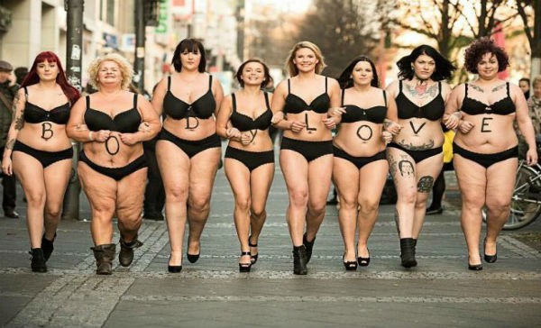 #BodyLove, la campaña de cuerpo natural de las mujeres ...