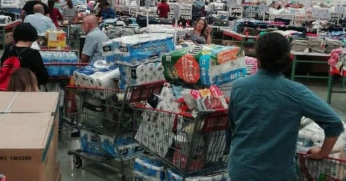 Coronavirus: ¿por qué las compras irracionales de papel higiénico?