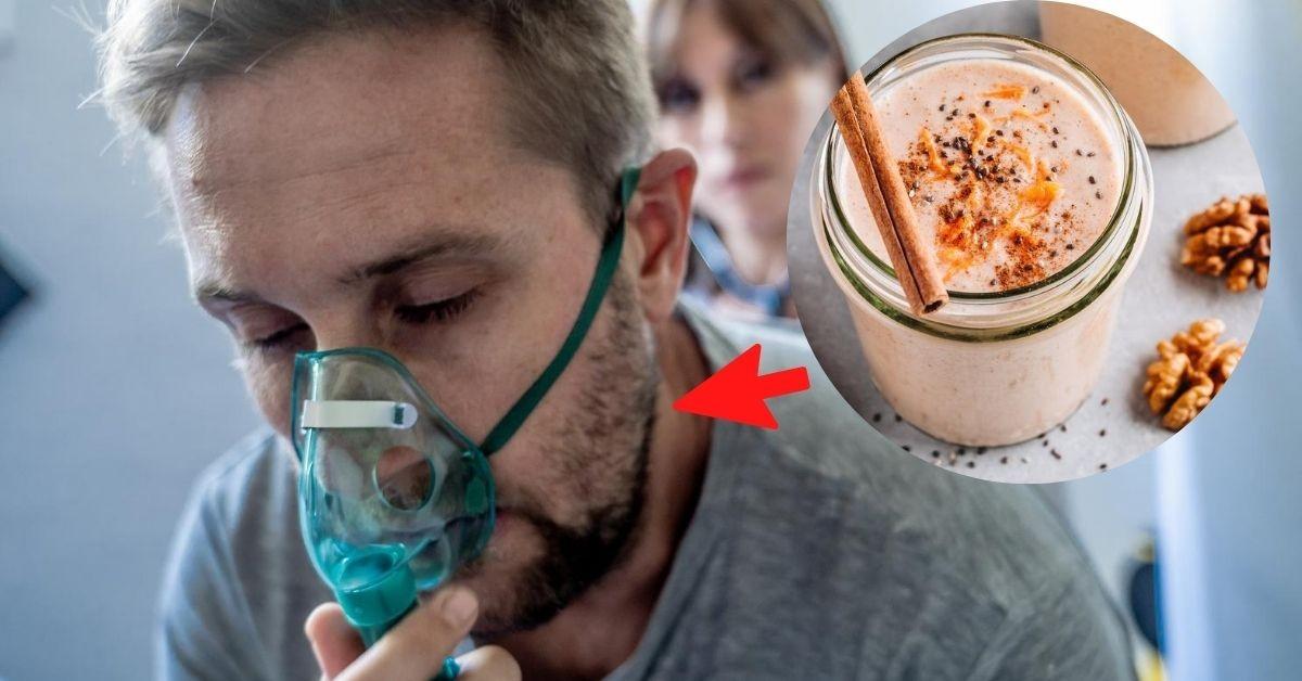 11 deliciosos licuados para fortalecer tus pulmones y combatir los virus. Foto iStock