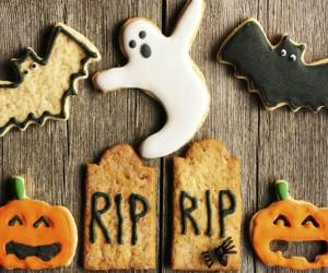 Galletas de Halloween que cuidan tu corazón