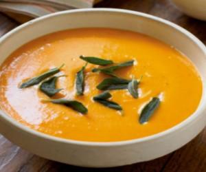 Evita un infarto con sopa de calabaza