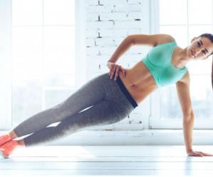 ejercicios para abdomen sentada en oficina