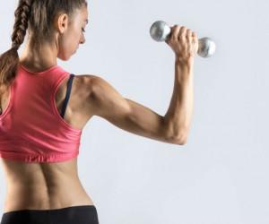 ¿Cómo marcar músculos de los brazos en una semana?