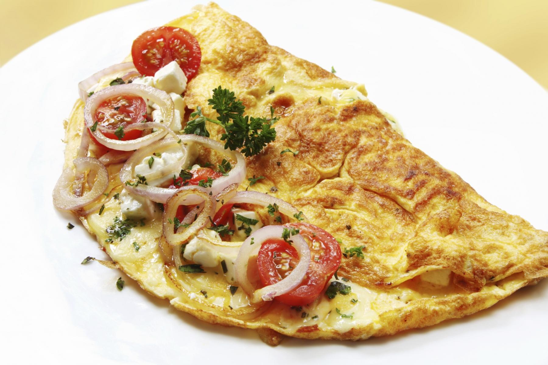Desayunos infantiles para vacacionesHuevos Mexicanos