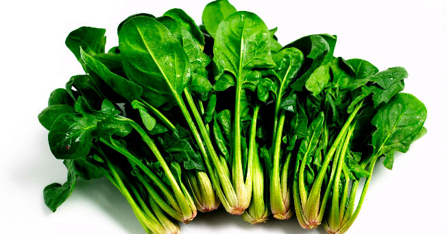 las espinacas, alimento saludable de la semana